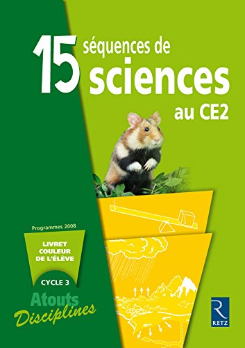 9782725627540: pack 6 cahiers sciences ce2