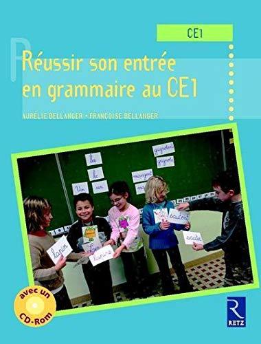 9782725627991: réussir son entrée en grammaire au CE1