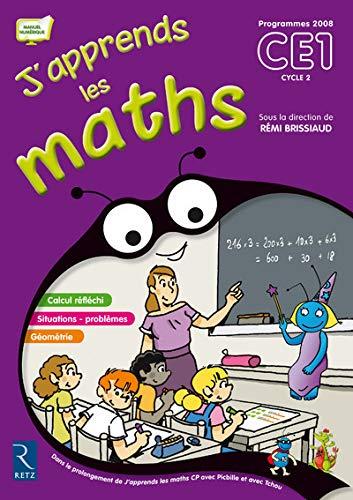 J'apprends Les Maths CE1 Cycle 2 (French: Brissiaud, Remi; Suire,