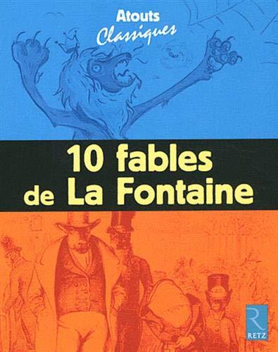 9782725628479: 10 fables de La Fontaine : Pack de 6 exemplaires