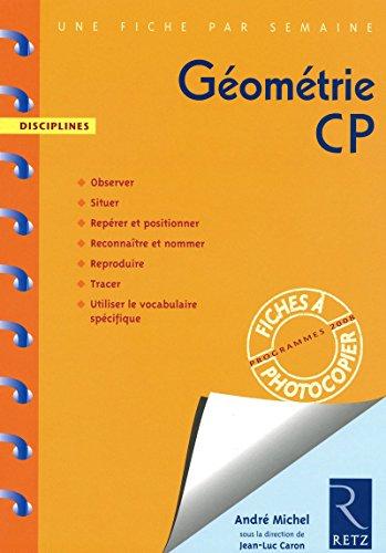 """""""géométrie ; CP ; fiches à photocopier (édition 2009)"""": ..."""