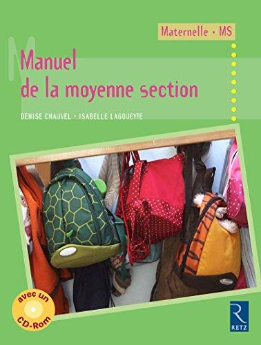 """""""manuel de la moyenne section ; maternelle/MS"""": Isabelle Lagoueyte"""