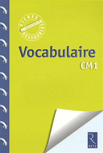 Vocabulaire CM1 (French Edition): Catherine Vialles