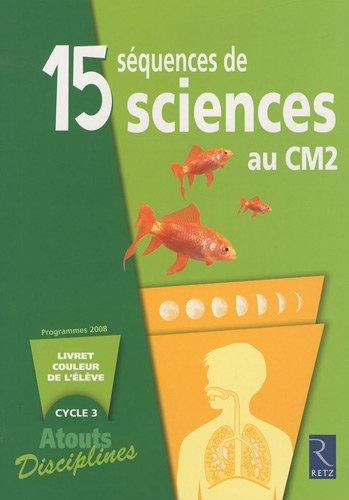 pack 6 cahiers sciences cm2: Bernadette Aubry