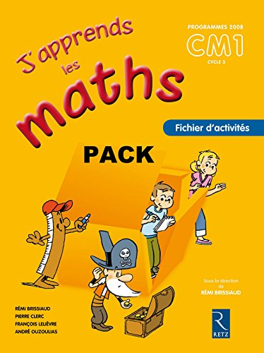 9782725629421: J apprends maths CM1 pack 6ex (J'apprends les maths)