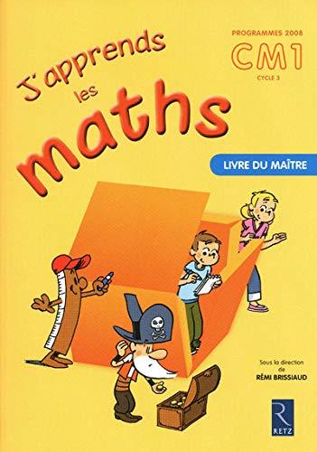 9782725629506: J'apprends les maths CM1 mait