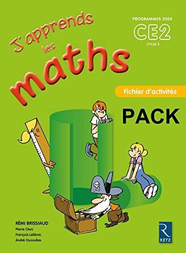 pack 6ex j'apprends les maths ce2 fichier d'activites: Pierre Clerc