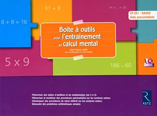 9782725631271: Boite a Outils pour l'Entainement au Calcul Mental CP-CE1 Rased