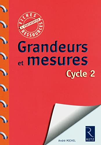 Grandeurs et mesures cycle 2