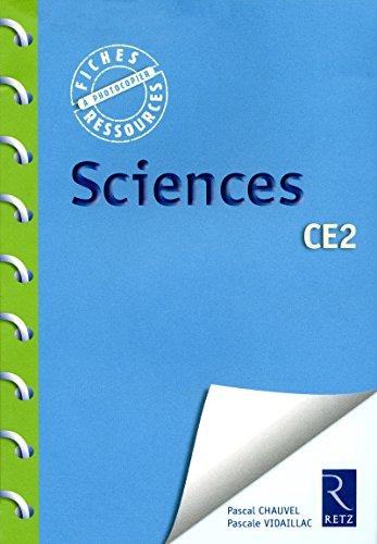 sciences ce2: Pascal Chauvel