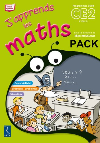 9782725631530: pack 10ex j'apprends maths ce2