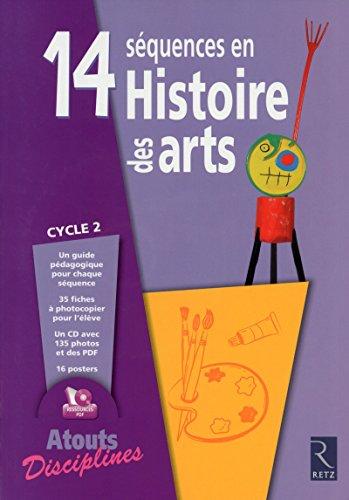 14 sequences en histoire des arts cycle 2 + cd