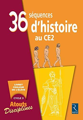 36 séquences d'histoire au CE2 - Lot de 6