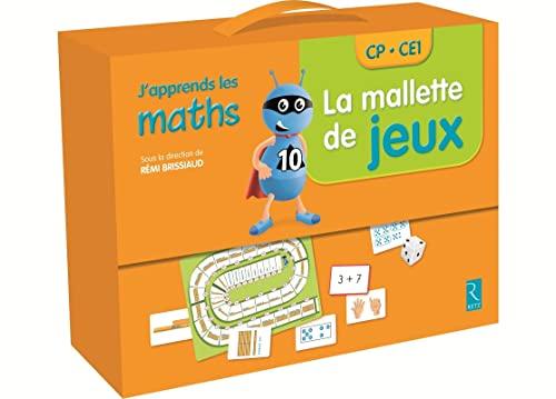 9782725633367: La mallette de jeux - J'apprends les maths CP/CE1