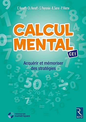 9782725633466: Calcul mental CE1 (+ CD-Rom)