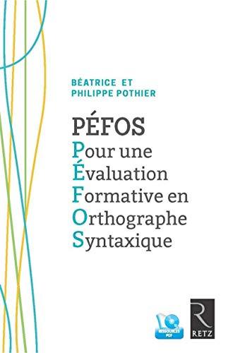 pour une évaluation formative de l'orthographe syntaxique: Beatrice ; Pothier, Philippe...
