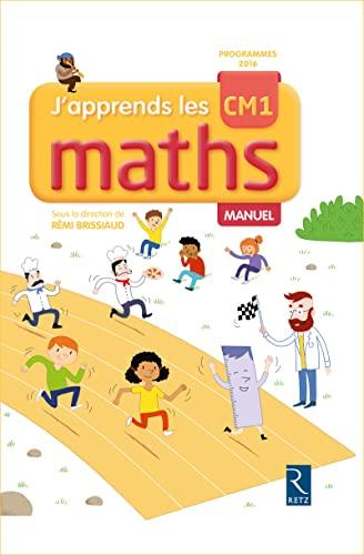 9782725635262: J'apprends les maths CM1 - Manuel