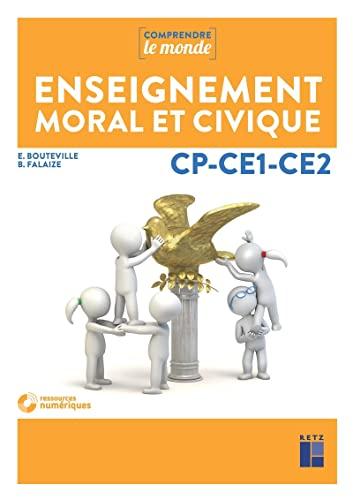 9782725635361: Enseignement moral et civique CP-CE1-CE2 (+ DVD-Rom)