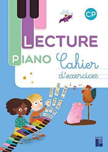 9782725635712: Lecture Piano CP - Cahier d'exercices