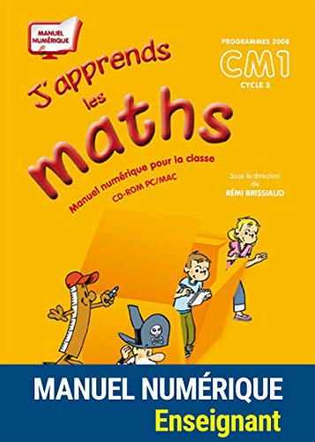 J'APPRENDS LES MATHS; CM1 ; JLM ; MN ; non adoptant