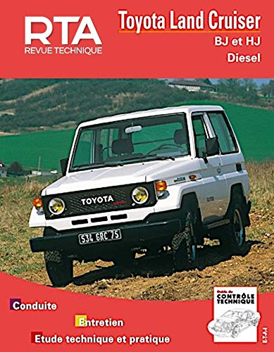 9782726800195: Toyota Land Cruiser, série BJ et HJ. Moteurs diesel