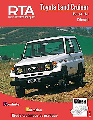 9782726800195: Revue technique automobile Toyota Land Cruiser, BJ et HJ Moteurs, diesel