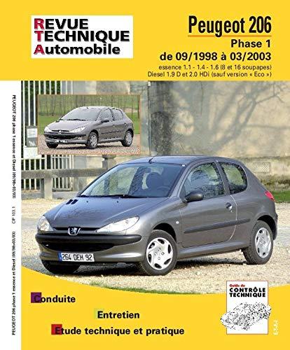 9782726810316: E.T.A.I - Revue Technique Automobile 103 - PEUGEOT 206 - 1998 à 2009