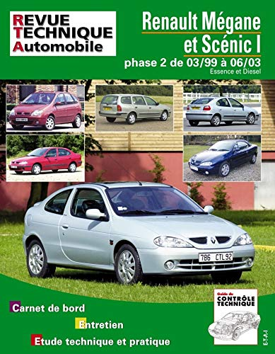 RENAULT MEGANE SCENIC I PHASE 2 03/99 A: R T A 120.1