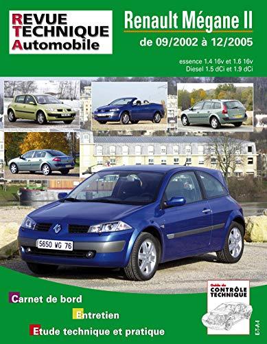 9782726812112: E.T.A.I - Revue Technique Automobile 121 - RENAULT MEGANE II PHASE 1 - 2002 à 2005