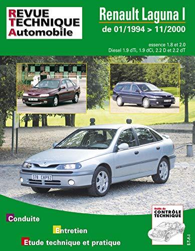 9782726812310: Rta 123.1 Renault Laguna Phase 1 et 2 Es/Diesel