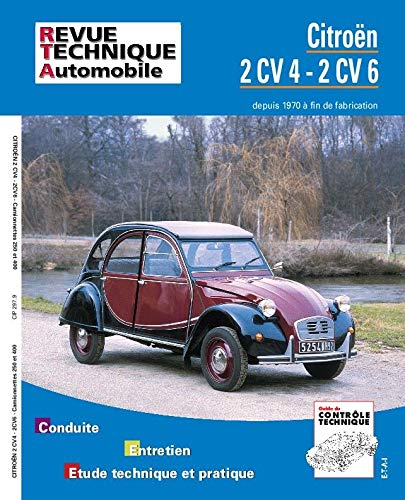 9782726829790: Rta 297.9 Citroën 2 Cv 4 et 6 Fourgonnette (71-90) (French Edition)