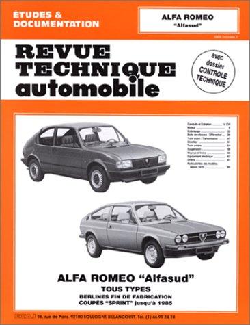 9782726834657: Revue Technique Automobile, CIP 346.5 : Alfa Romeo
