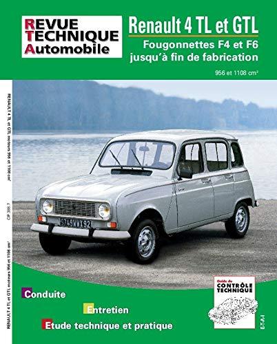 9782726838860: Rta 388.7 Renault 4 gtl et fourgonnette 4f4-4f6