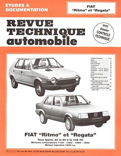 Fiat Ritmo et Regata, tous types de: Etai