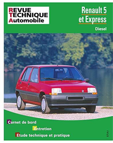 9782726848043: Revue Technique Automobile, N� 480.5 : Renault 5 et express diesel