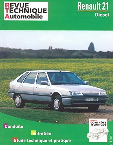 9782726848753: Rta 487.6 Renault 21 Diesel (86-96)