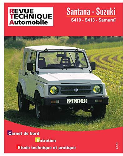 9782726850244: Rta 502.5 Santana et Suzuki S 410 et 413 (82-94)