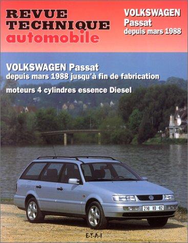 9782726852422: Revue technique automobile : Volkswagen Passat de mars 1988 � juillet 1996