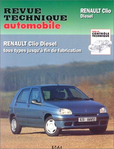 9782726853436: Revue Technique Automobile, CIP 534.4 : Renault Clio diesel