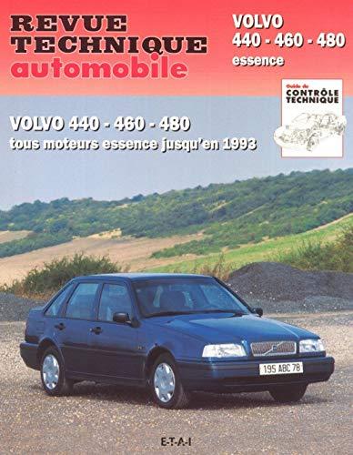 9782726854013: Revue Technique Automobile, CIP 540.2 : Volvo 440 - 460 - 480 essence