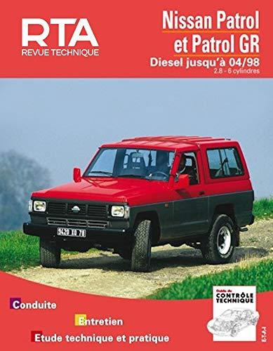 9782726854129: Rta 541.3 nissan patrol diesel 2.8 (89-98)