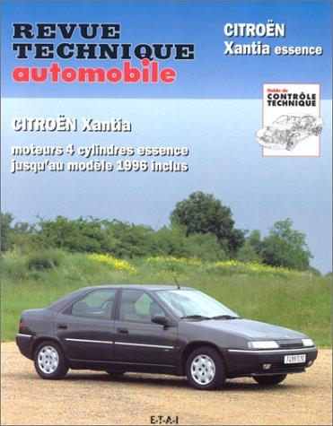 9782726855911: Rta 559.2 Citroën Xantia 4 Cyl.Essence 93/96