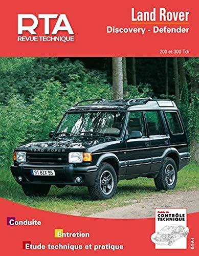 9782726856413: Land Rover Discovery et Defender : Moteur turbo Diesel 200 Td