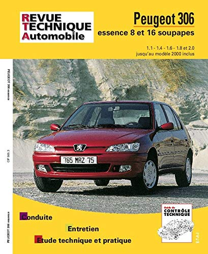 Peugeot 306 : moteurs essence 1.1, 1.4,: Etai