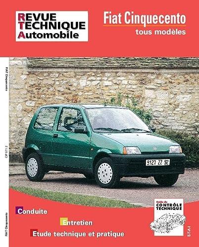 9782726857113: Revue Technique Automobile, CIP 571.2 : Fiat Cinquecento tous mod�les