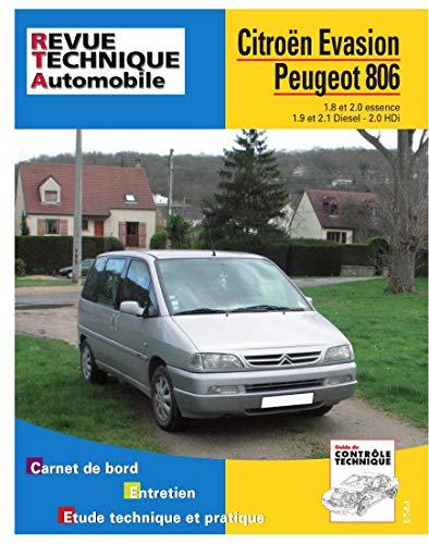 9782726857618: Rta 576.3 Peugeot 806-Citroën Evasion 95/98