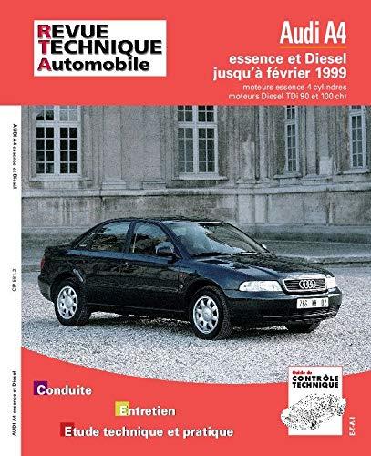 9782726858110: Revue technique automobile, n�581 : AUDI A4 moteurs 4 cylindres essence et diesel, TDi 90ch