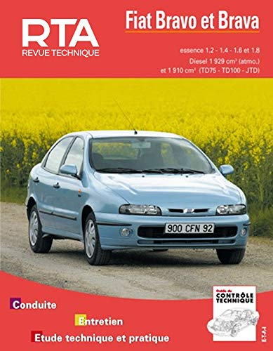 9782726858516: Rta 585.3 Fiat Bravo & Brava E&d (95-99) (French Edition)