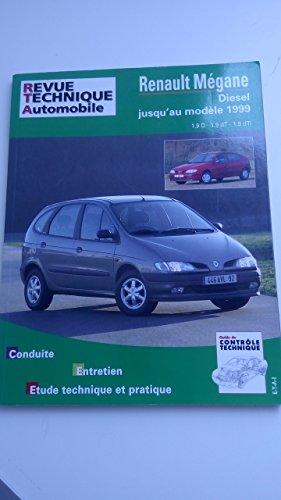 9782726858738: Rta 587.3 Renault Megane et Scenic Diesel (95-98).