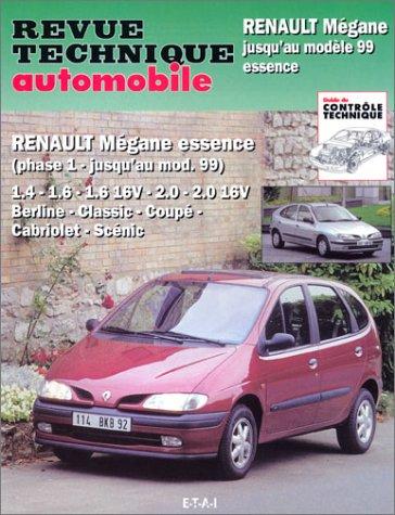 9782726859315: Renault Mégane essence : Mégane, Mégane classic, Mégane coupé, Mégane Scéni